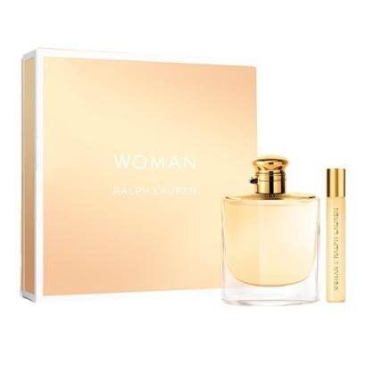 Kit Perfume Ralph Lauren Woman EDP + Miniatura  Feminino - Feminino-Incolor