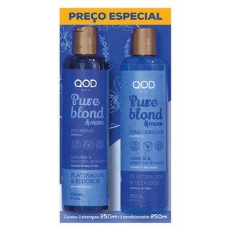 Kit Qod City Pure Blond Preço Especial