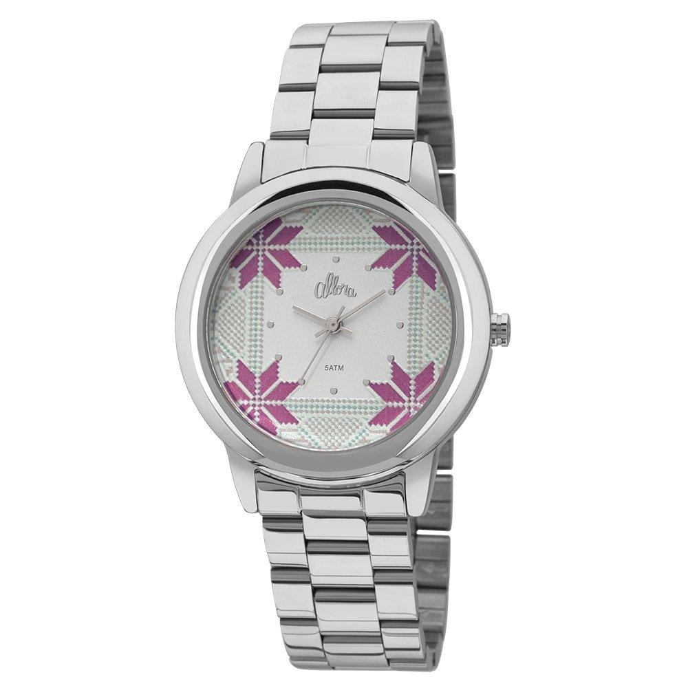 Kit Relógio Allora Feminino Tramas Étnicas - Compre Agora   Zattini 104ff88ec7