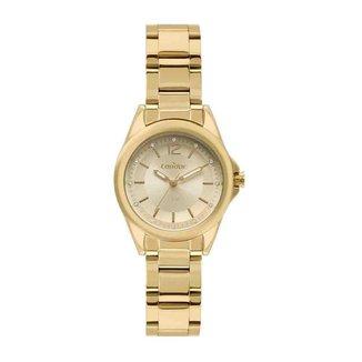 Kit Relógio Condor Feminino Dourado COPC21AEAF/K4D