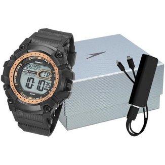 Kit Relógio Masculino Speedo Digital - 11004G0EVNP3K1 com Acessório