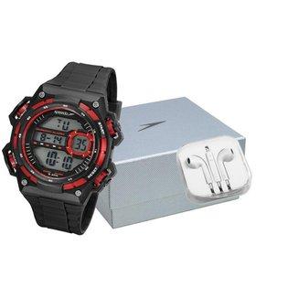 Kit Relógio Speedo Digital   + Fone