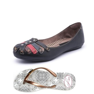 Kit Sapatilha+Chinelo Top Franca Shoes