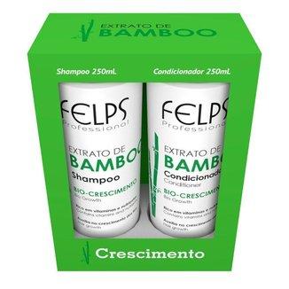 Kit Shampoo + Condicionador  Felps Extrato de Bamboo