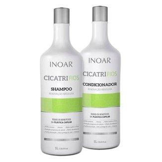 Kit Shampoo + Condicionador Inoar Duo Cicatrifios 2x 1L