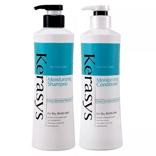 Kit Shampoo + Condicionador Kerasys Moisturizing - Incolor