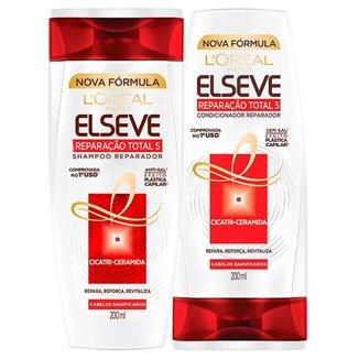Kit Shampoo + Condicionador L'Oréal Paris Elseve Reparação Total 5+ Kit