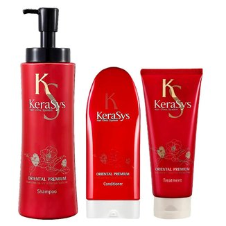 Kit Shampoo + Condicionador + Tratamento Kerasys Oriental Premium
