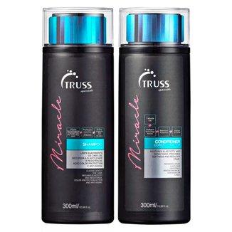 Kit Shampoo + Condicionador Truss Professional Miracle