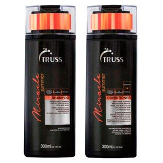 Kit Shampoo + CondicionadorTruss Professional Miracle Summe