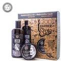 Kit Shampoo de Cerveja QOD Barber Shop 3 em 1 + Pomada Capilar Walk