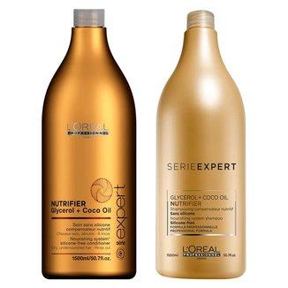Kit Shampoo e Condicionador L'oreal Professionnel Nutrifier
