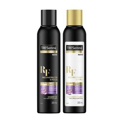 Kit Shampoo e Condicionador Tresemmé Reconstrução 200ml