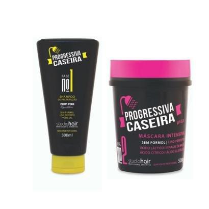 Kit Shampoo + Mascara Progressiva Caseira Muuriel-Feminino