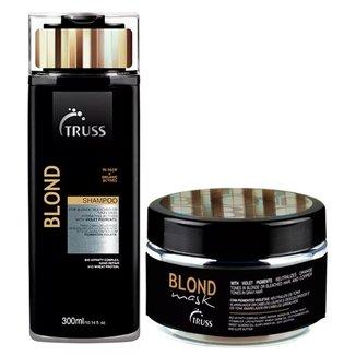 Kit Shampoo + Máscara Truss Professional Blond