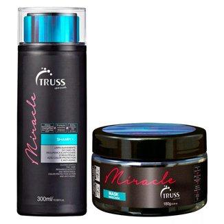Kit Shampoo + Máscara Truss Professional Miracle