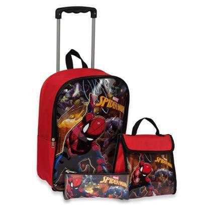 Kit Spiderman 19 Super Mass Infantil