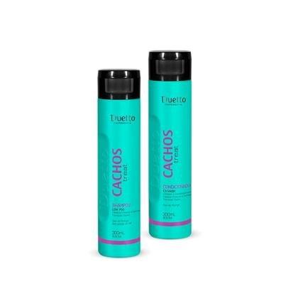 Kit Treat Duetto Shampoo LowPoo 1 Shampoo 300ml + 1 Condiconador 300ml