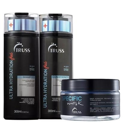 Kit Truss Hydration Plus 1 Shampoo 300ml + 1 Condicionador 300ml + 1 Másc 180g