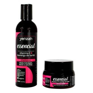 Kit Yenzah Essencial Shampoo + Máscara