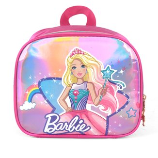 Lancheira Escolar Luxcel Barbie Feminina