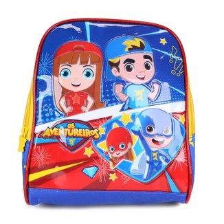 Lancheira Infantil Clio Style Os Aventureiros Gigi e Luccas Neto
