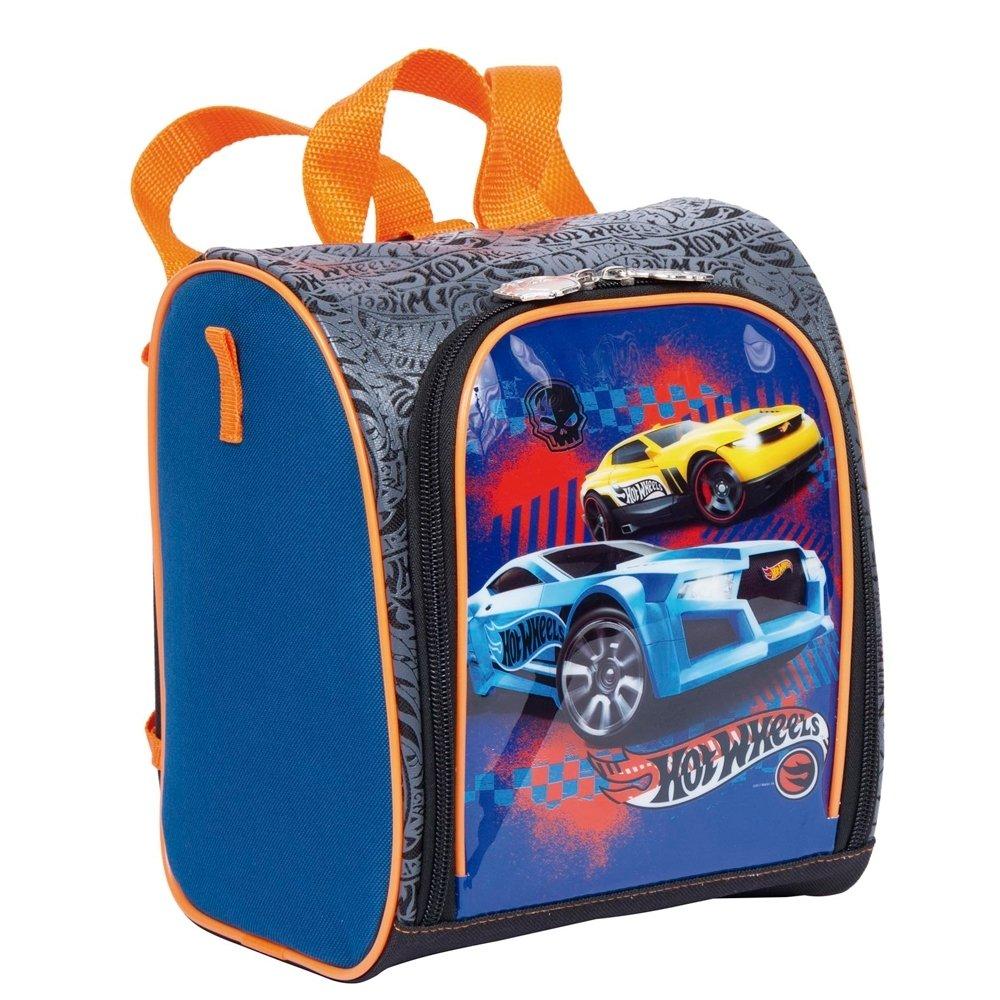 1aa4deb2c Lancheira Infantil Sestini Hot Wheels 18Z - Compre Agora