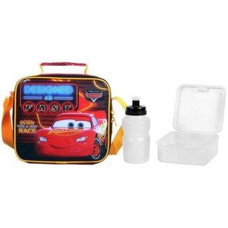 Lancheira Infantil Térmica Escolar Carros