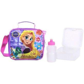 Lancheira Infantil Térmica Escolar Rapunzel