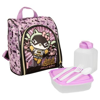 Lancheira PCF Global Hello Kitty Batgirls