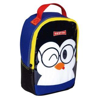 Lancheira Sestini Kids Basic Pinguim Sestini