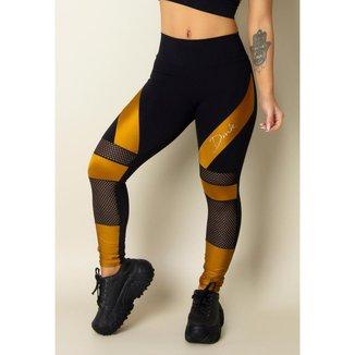 Legging Fitness Gold Feminina