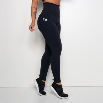 Legging Fitness Hb Cós Alto-Feminino