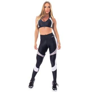 Legging Glowing Secret Preta Lets Gym - G