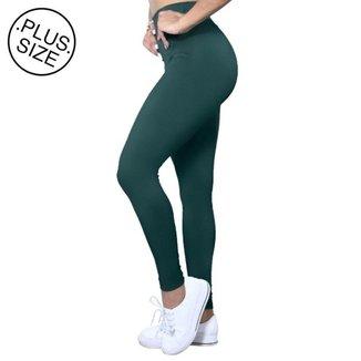 Legging Plus Size Heide Ribeiro Suplex Basic Feminina