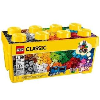 Lego Classic Caixa Media Com 484 Peças Criativas 10696