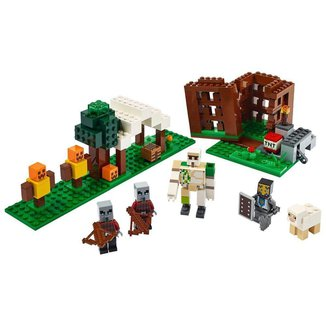 Lego Minecraft The Pillager Outpost 21159 - 303pcs