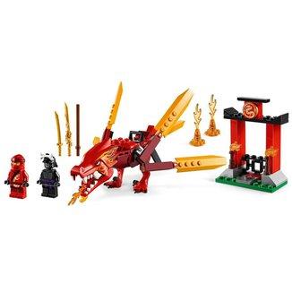 Lego Ninjago Dragão do Fogo do Kai 71701 - 81pcs
