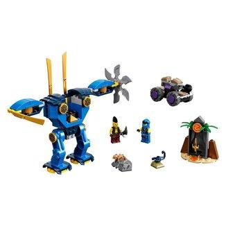 Lego Ninjago O Electromech de Jay 71740 - 106pcs