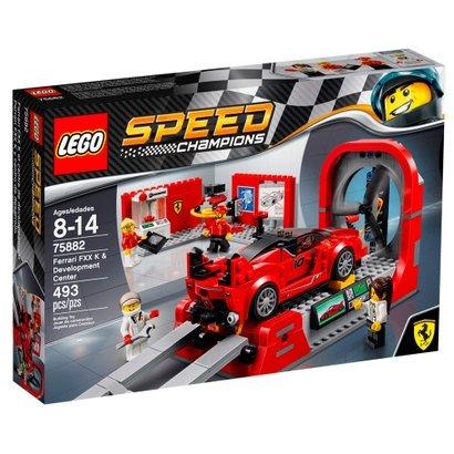 LEGO Speed Champions - Ferrari - Centro de Desenvolvimento - Ferrari FXX K - 75882