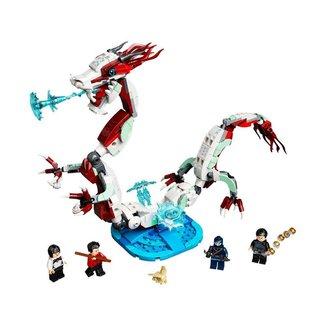 Lego Super Heroes Batalha Na Vila Antiga 76177 - 400pcs
