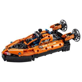 Lego Technic Hovercraft De Resgate 42120