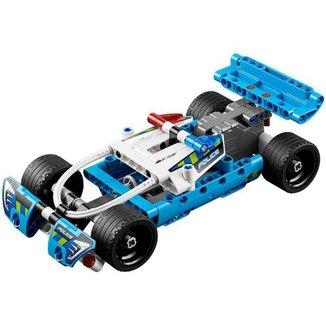 LEGO Technic Perseguição Policial - 120 Peças