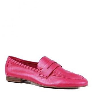 Loafer Loucos Santos Candy Colors Em Couro Feminino