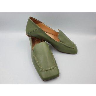 Loafer Versátil em Couro Le scarpe di Bruna -