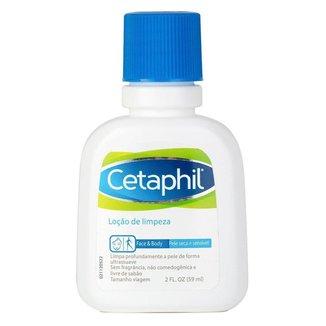 Loção de Limpeza Facial e Corporal Cetaphil - Travel Size 59ml