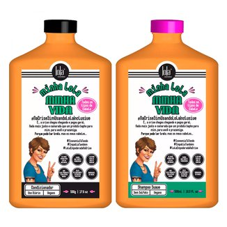 Lola Cosmetics Minha Lola Minha Vida  Kit - Shampoo + Condicionador Kit