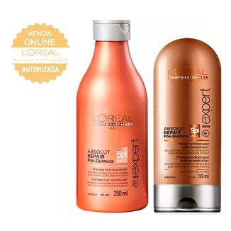 L'Oréal Professionnel Absolut Repair Pós Química Kit- Shampoo + Condicionador Kit
