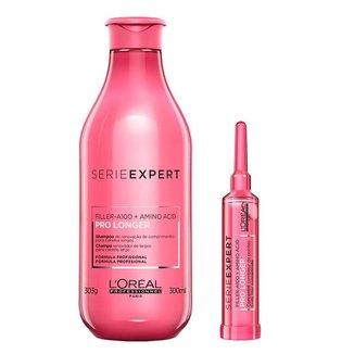 L'Oreal Professionnel Pro Longer Kit - Shampoo + Ampola Kit