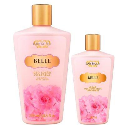 Love Secret Belle Kit - Loção Desodorante + Loção Desodorante Kit